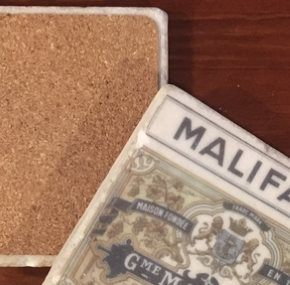 Adhesive Cork Backing for Coasters