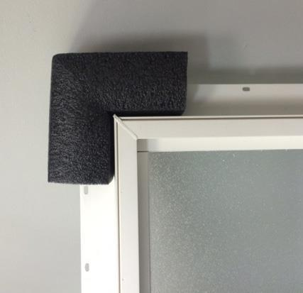 EPP Foam to Protect Window